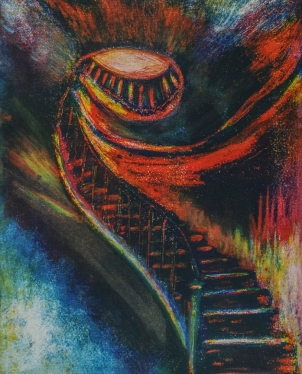 TRIP TO ETERNITY | 2014 | SOLD | ©LESLIE M. GUZMÁN