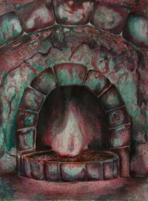 FLAME | 2015 | ORIGINAL AVAILABLE | ©LESLIE M. GUZMÁN