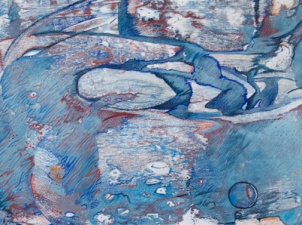 Blue Abyss | 2011 | ORIGINAL AVAILABLE |©LESLIE M. GUZMÁN