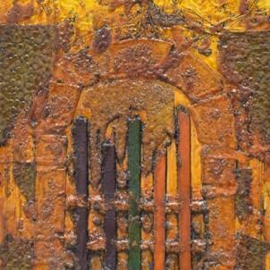 GATE COLLAGRAPH  2014   NFS   ©LESLIE M. GUZMÁN