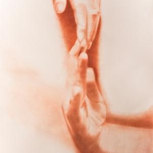 GIGI'S HANDS   2012   ORIGINAL NFS   ©LESLIE M. GUZMÁN