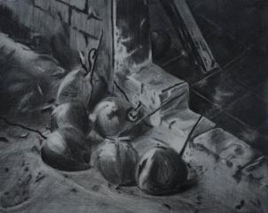 Sketch: Jutiapa | 2011 | ORIGINAL AVAILABLE | ©LESLIE M. GUZMÁN
