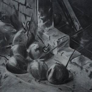 Sketch: Jutiapa   2011   ORIGINAL AVAILABLE   ©LESLIE M. GUZMÁN