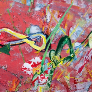 RED INFINITY   2011   ORIGINAL NFS   ©LESLIE M. GUZMÁN
