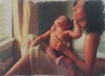 Mother and Child | 2013 | ORIGINAL SOLD |©LESLIE M. GUZMÁN