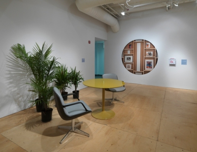 Precarity_Contingency in Artmaking and Academia_2016 installation view 2